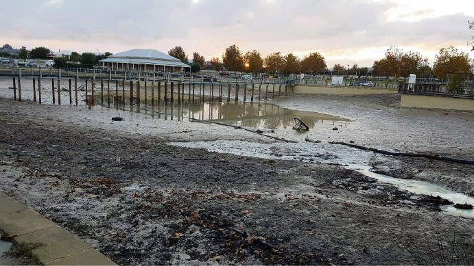 Ellenbrook: Brookmount Park lake refurbishment to be finished this month