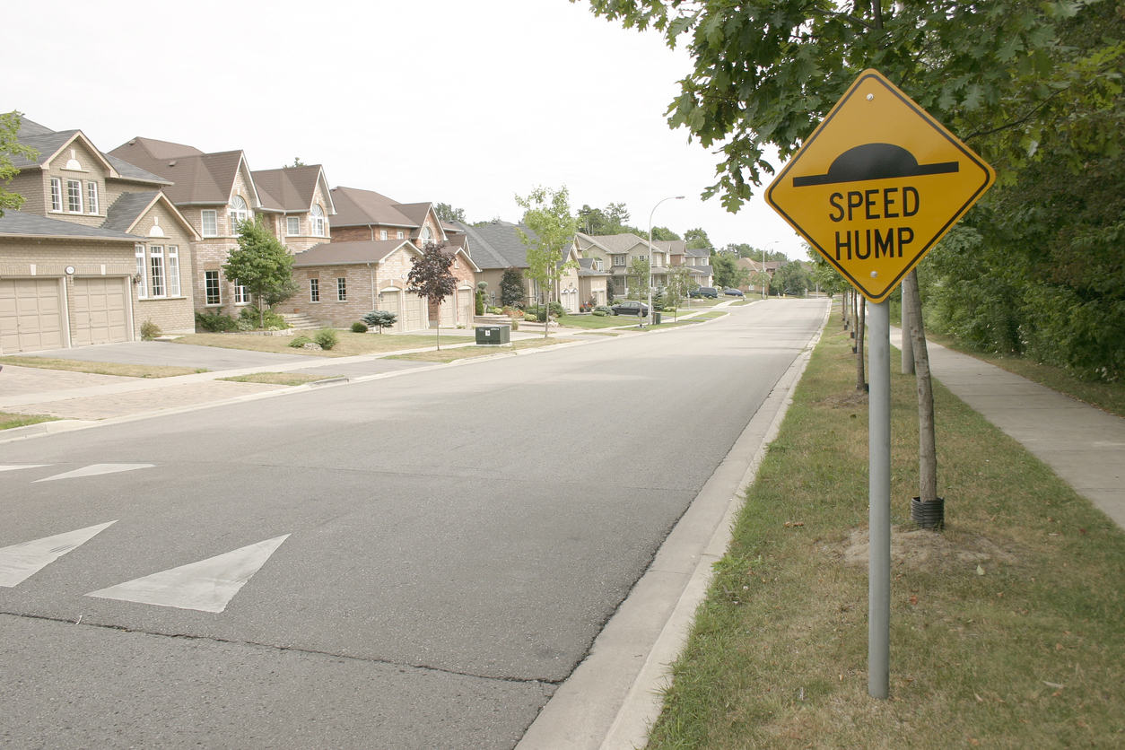 Speed humps are necessary along Whittington Avenue in Carine to stop it being used as a rat run