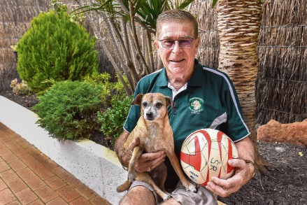 Parkwood man recognised for voluntary support of Shamrock Rovers FC