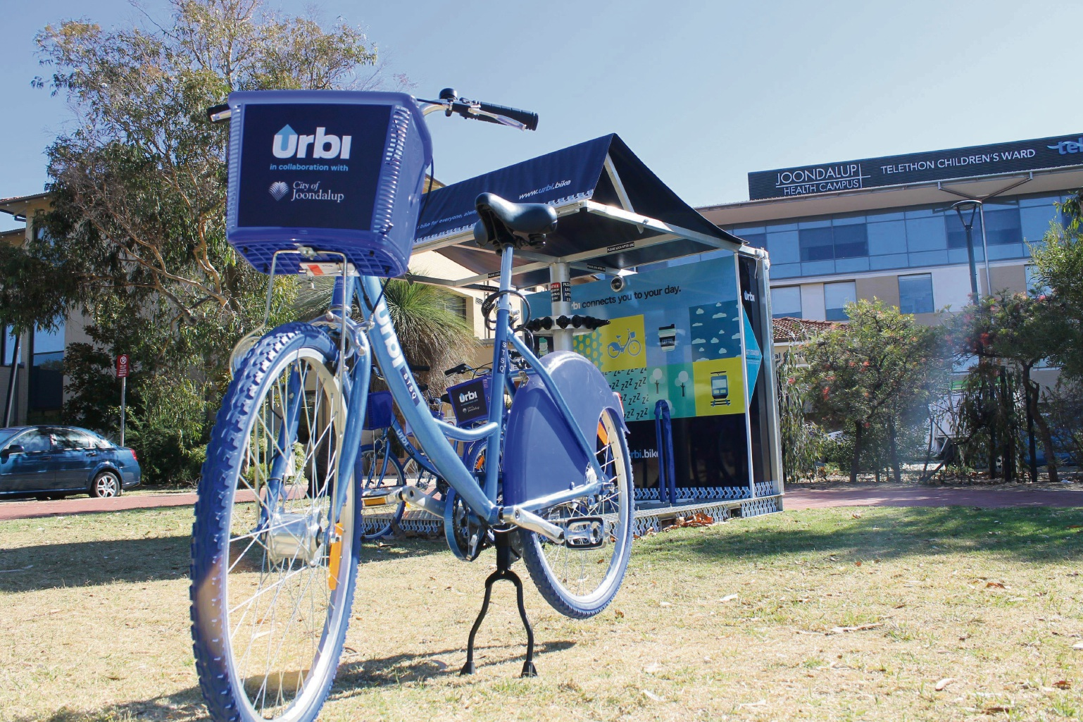 City of Joondalup launching trial of bike-share facilities