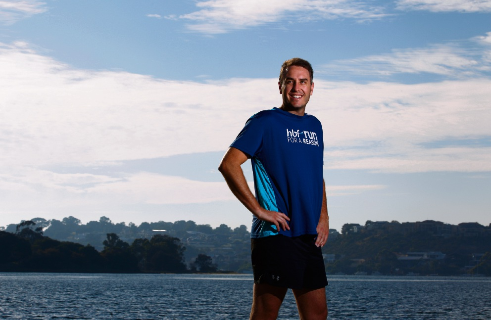 Paddy Sweeney will run the half-marathon to support Lifeline. Picture: Marie Nirme        www.communitypix.com.au   d469186