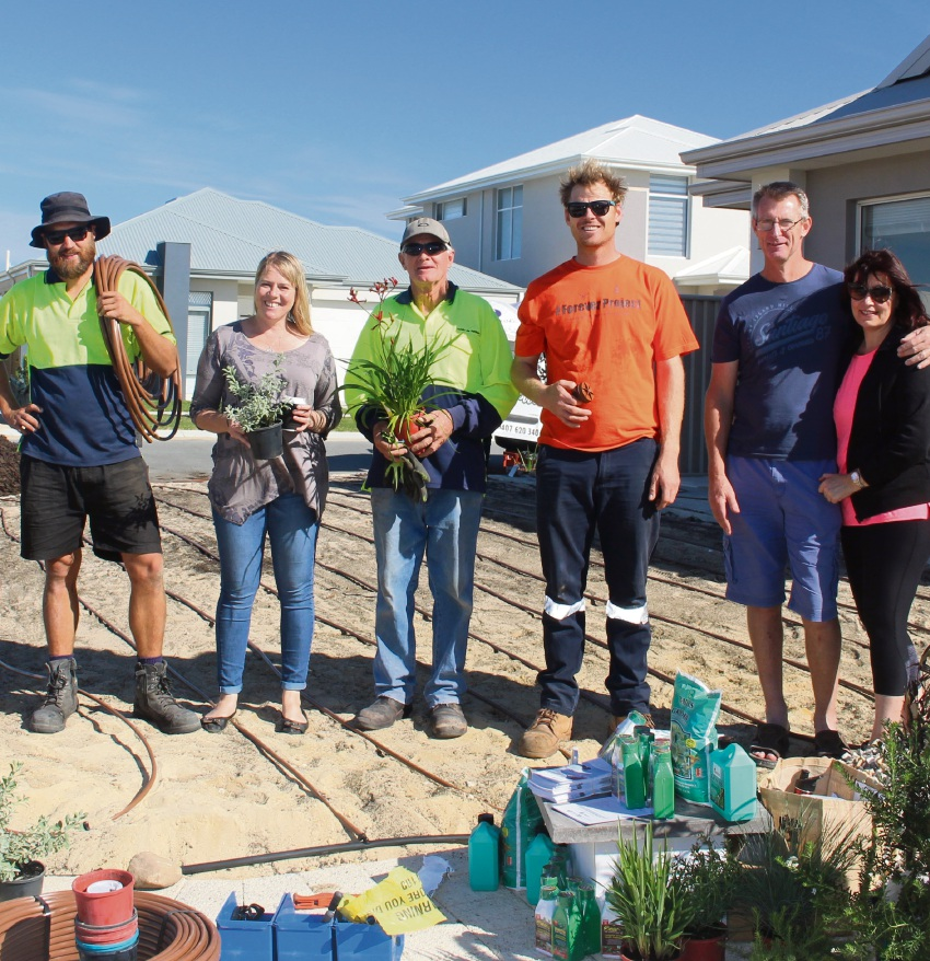 Waterwise garden makeovers popular in Alkimos