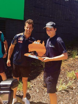 WA Go-kart champ aims to follow Daniel Ricciardo into F1