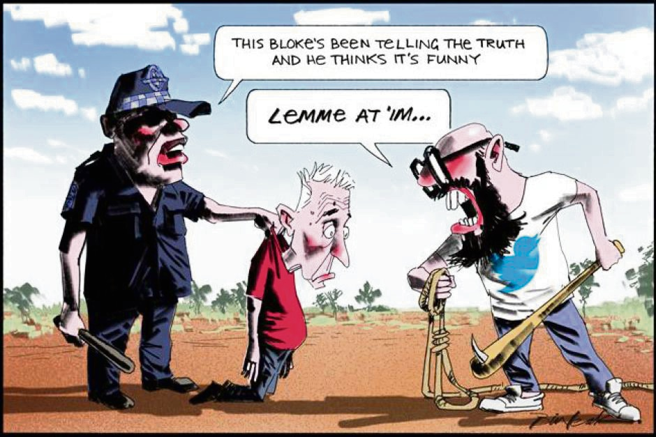 """Community News cartoonist Smithy pays tribute to """"brilliant"""" Bill Leak, dead at 61"""