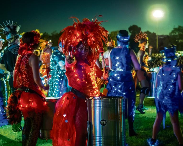 Big T gives Gosnells Illuminate Night Party a big kick off