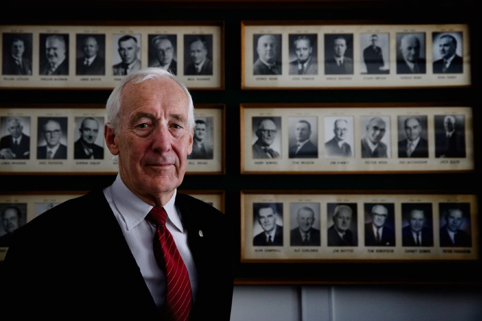 Former Rotary Club of Perth president Dick Cook. Picture: Andrew Ritchie