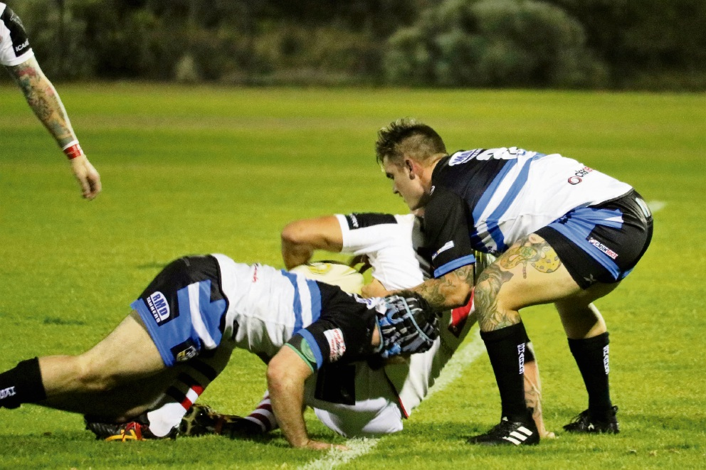 The Rockingham Sharks lost to the Fremantle Roosters last weekend.