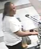 Midland: police on hunt for woman who stole trolley of groceries