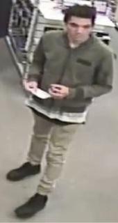 Midland: police on hunt for man who stole digital multimeter