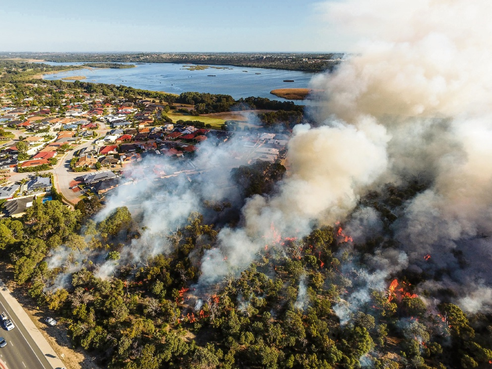 Stunning images of prescribed burn-off in Wanneroo