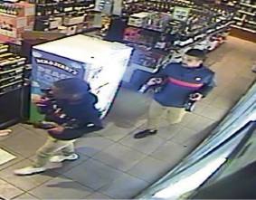 Clarkson: police looking for two men who tried to rob liquour store