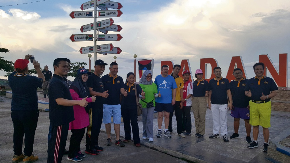 Delegates from Padang and Fremantle recently celebrated the 20th anniversary of their friendship-city relationship.