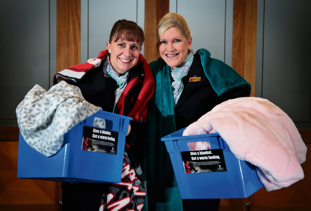 Anglicare WA urges people to make warm gesture and donate blankets