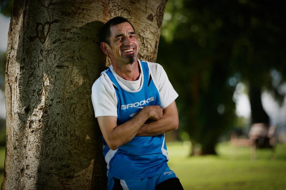 Despite cerebral palsy runner shows Howe it's done