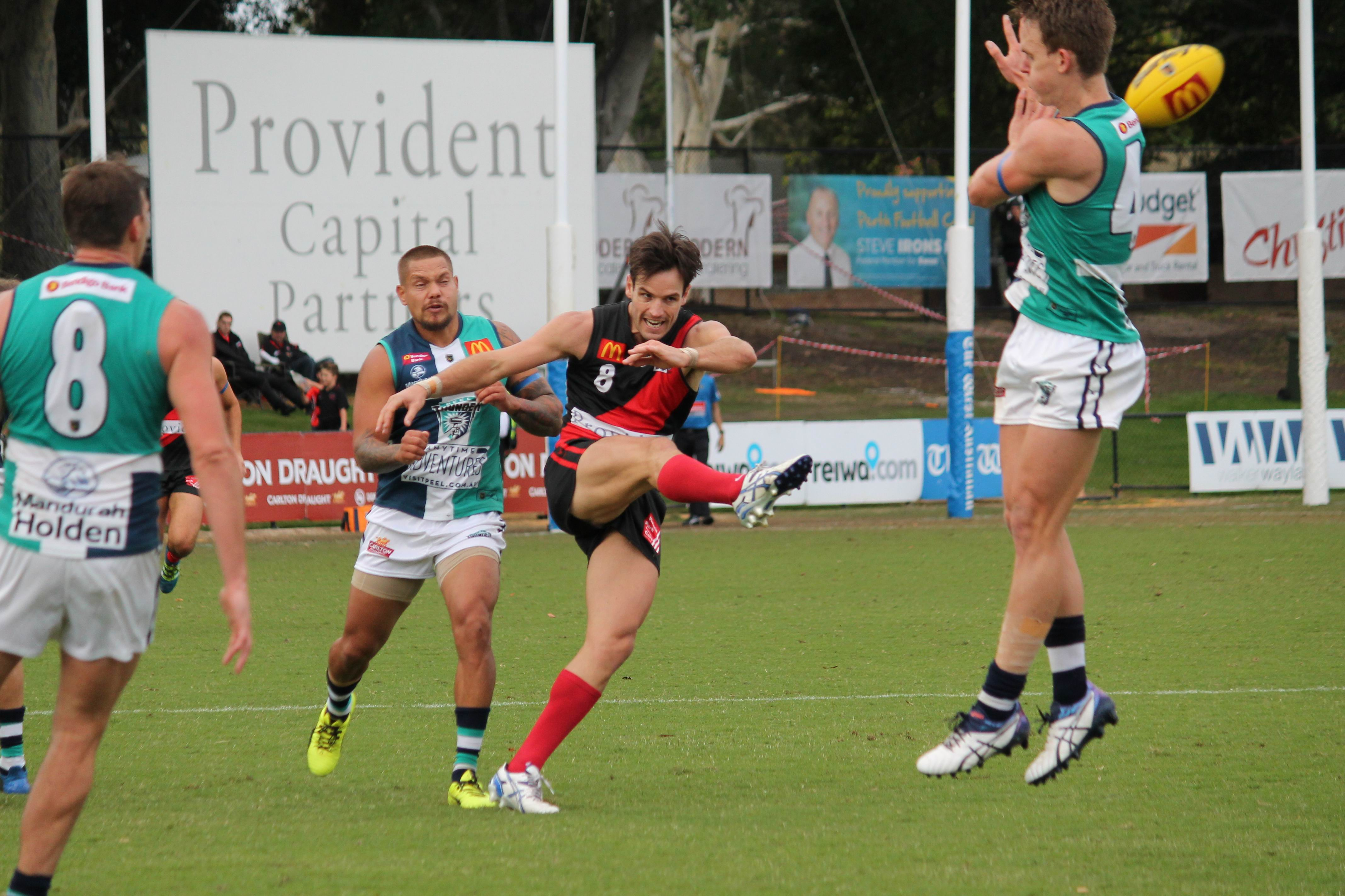 Perth lost to Peel Thunder by 90 points. Picture: Tim Slater