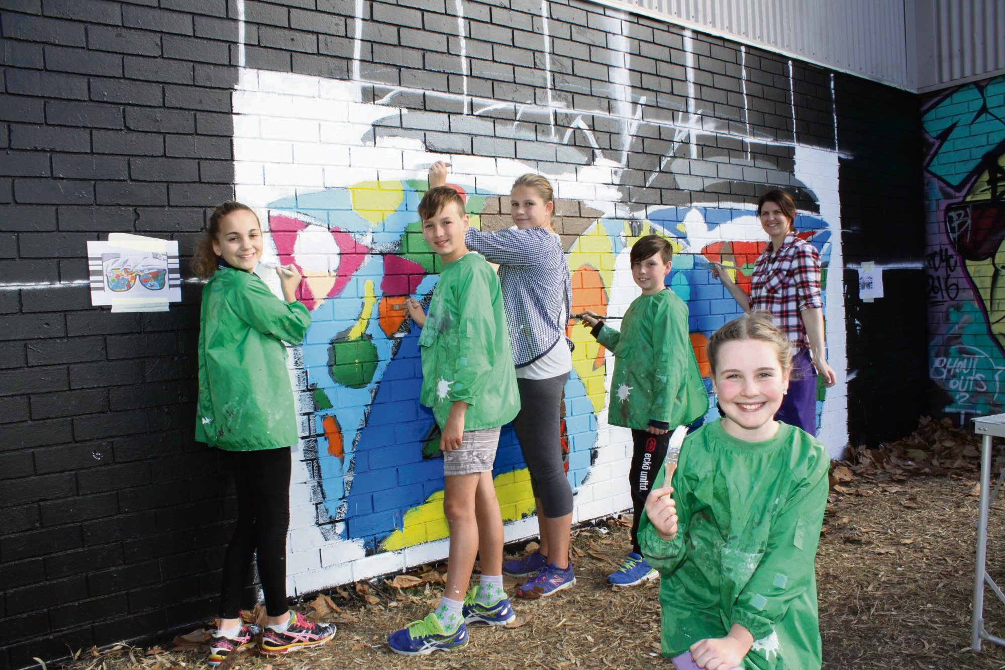 Rockingham: Take pART gets local schools involved in spreading happiness