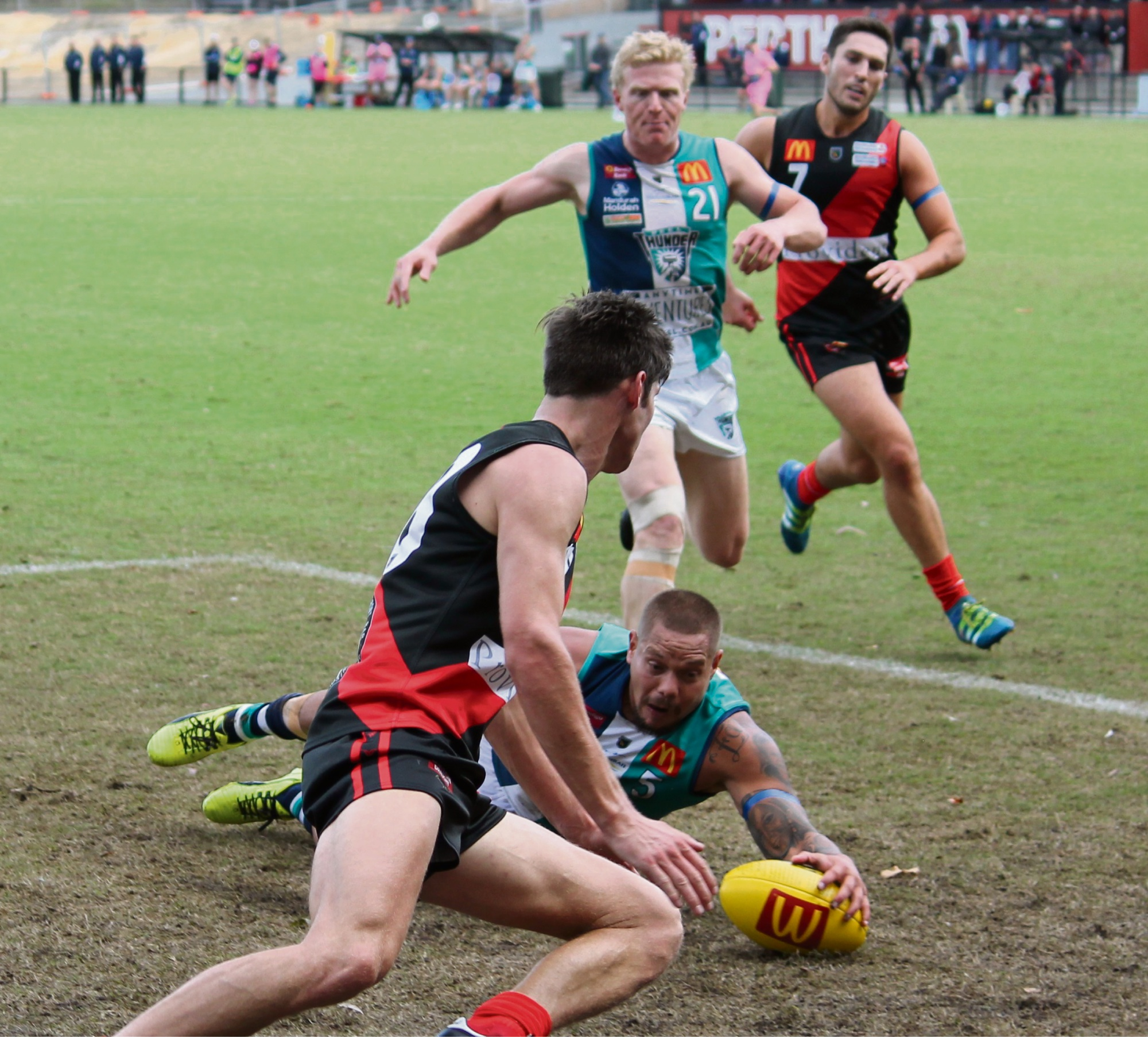 WAFL: Leroy Jetta's spectacular goal the icing on the cake in Peel's biggest ever win