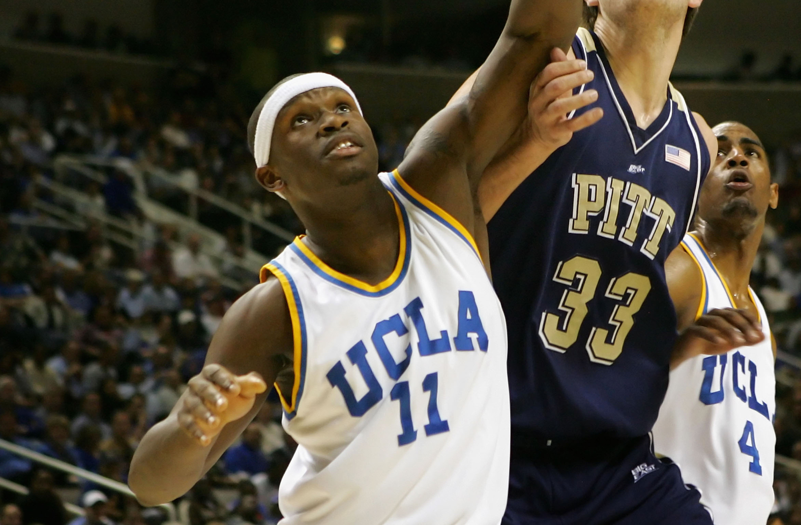 Ryan Wright during his time at NCAA powerhouse UCLA. Picture: Getty Images