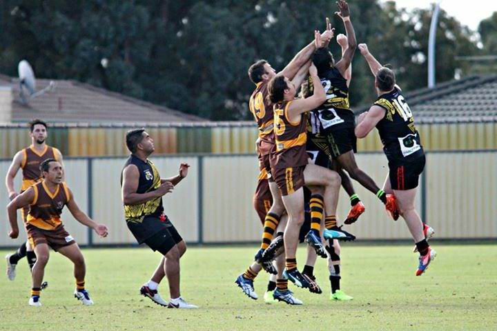Action from the game. Picture: Michelle Keen Mager