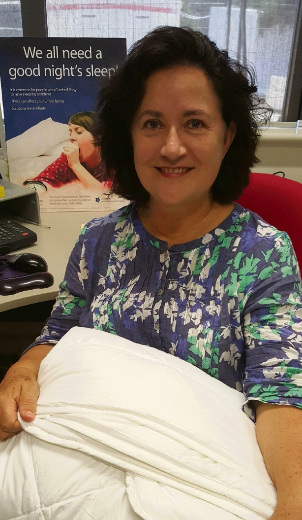 Edith Cowan University occupational therapist Sue McCabe.