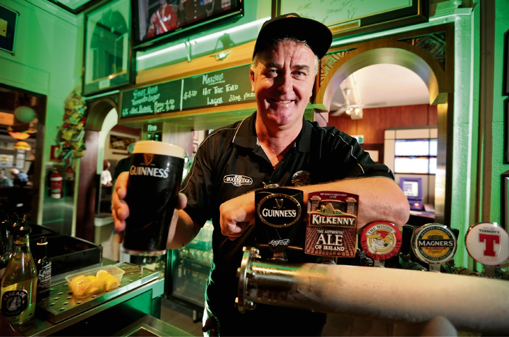 St Patrick's Day to be a busy one for Irish expat and Woodbridge Hotel boss