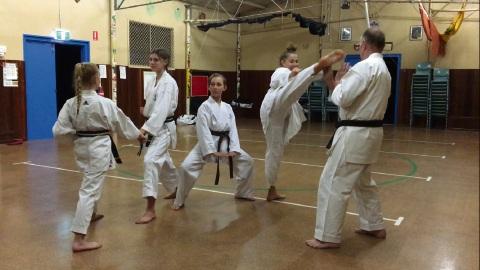 Booragoon grandad trains four grandkids to selection in Australian Karate team