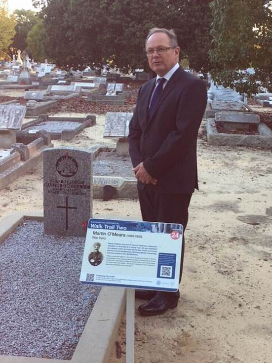 War heroes' graves to be heritage-listed to mark 100th anniversary of end of WWI