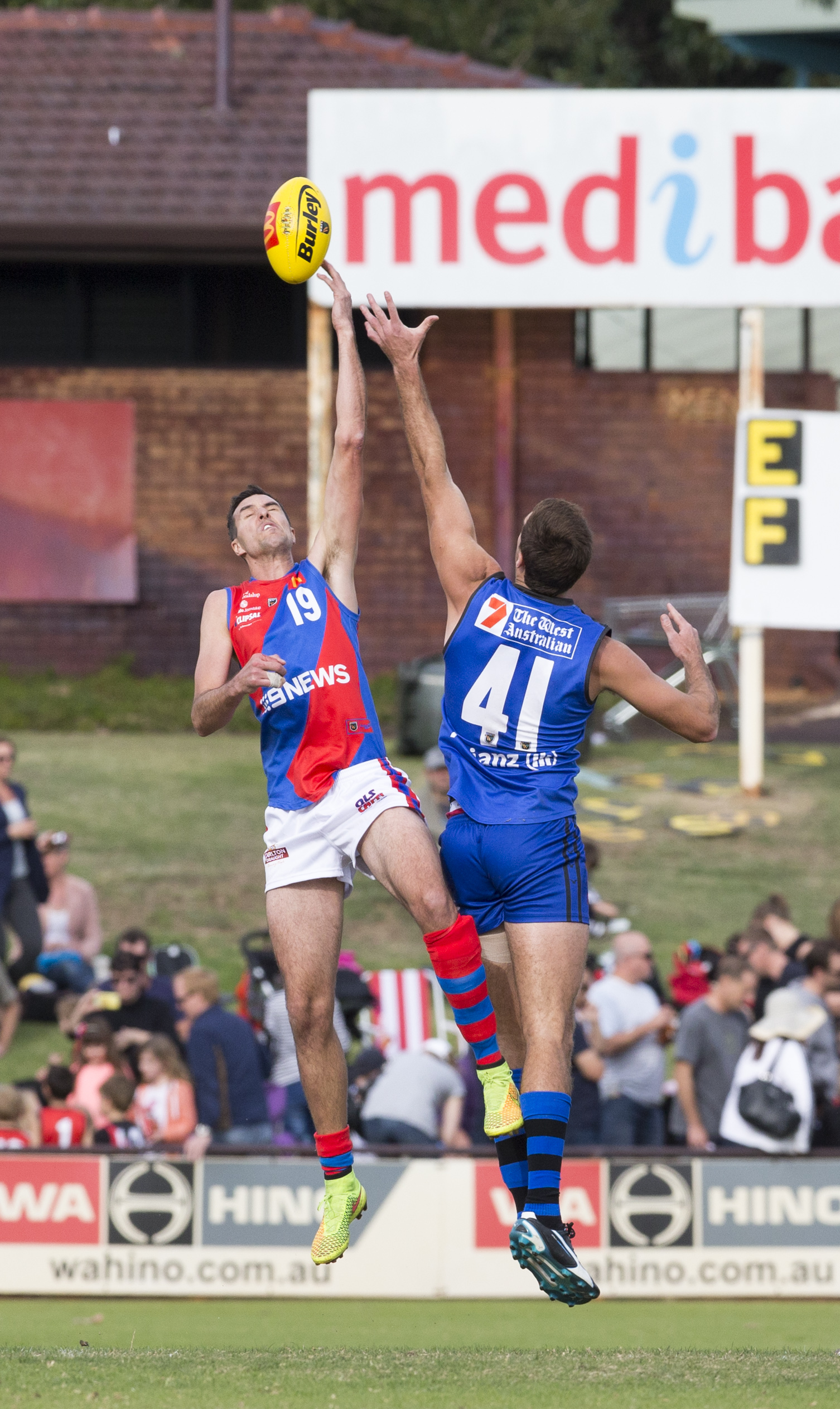 Chris Keunen is likely to return from injury when West Perth faces East Perth after the State Game. Picture: Dan White