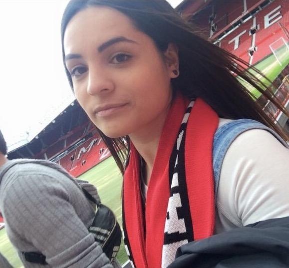 Michelle Faria in Manchester.