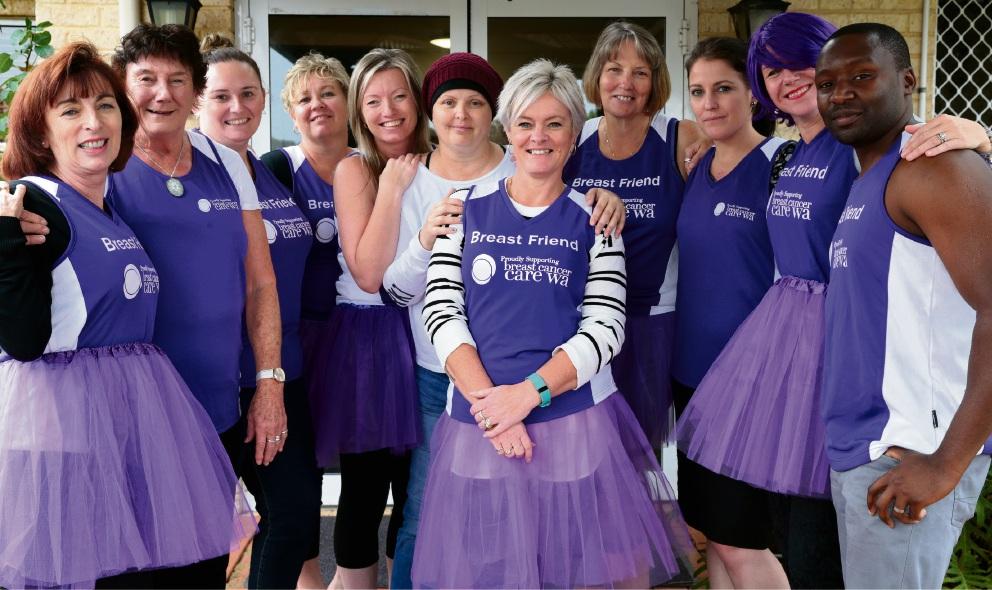 Wanneroo Community Nursing Home rallies to help runners