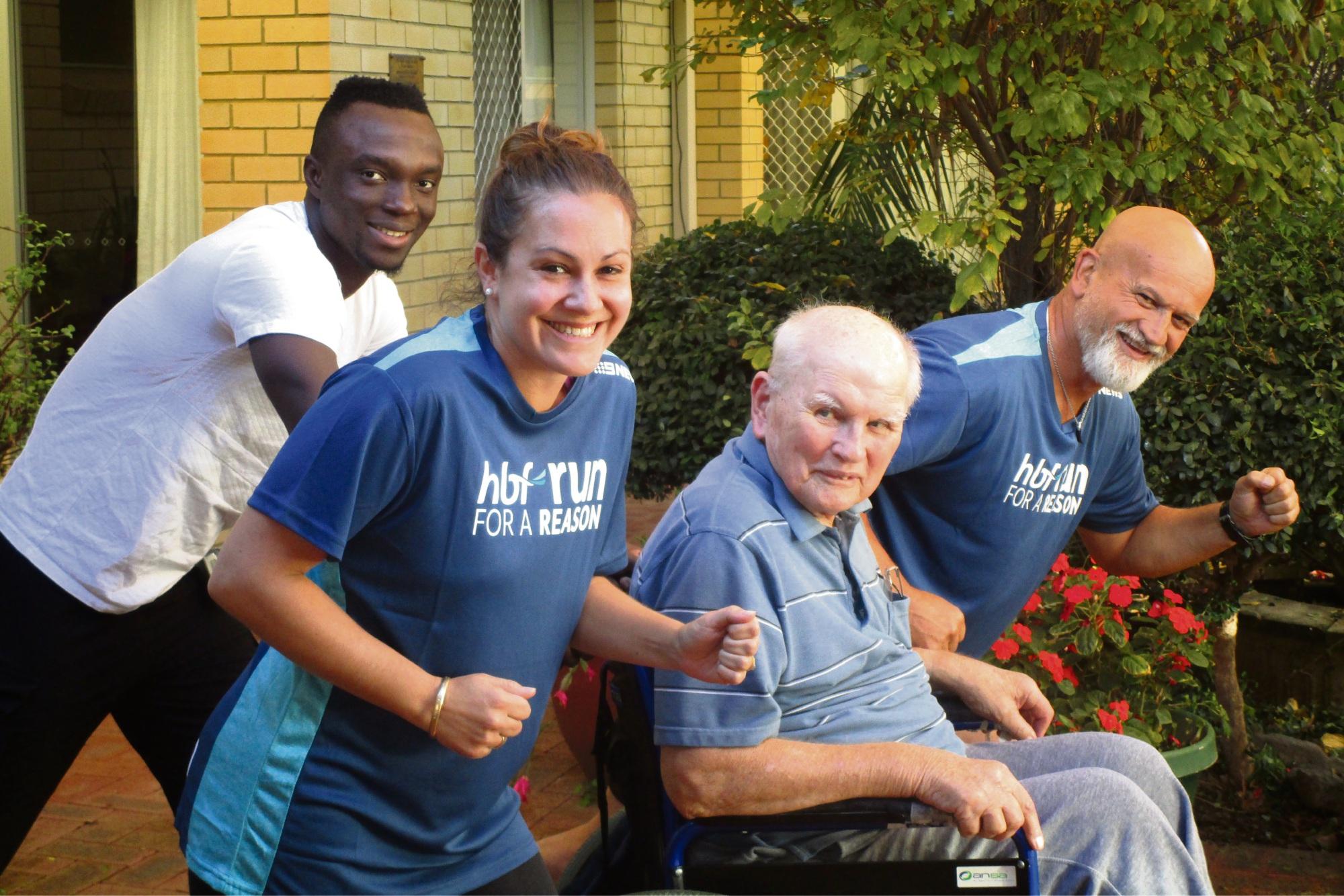 Lesmurdie Mercy Health staff find their reason to run