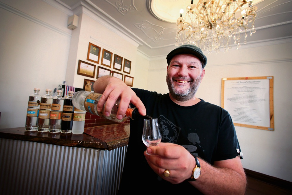 James Young, founder and distiller at Old Young's Distillery in Henley Brook. Picture: David Baylis