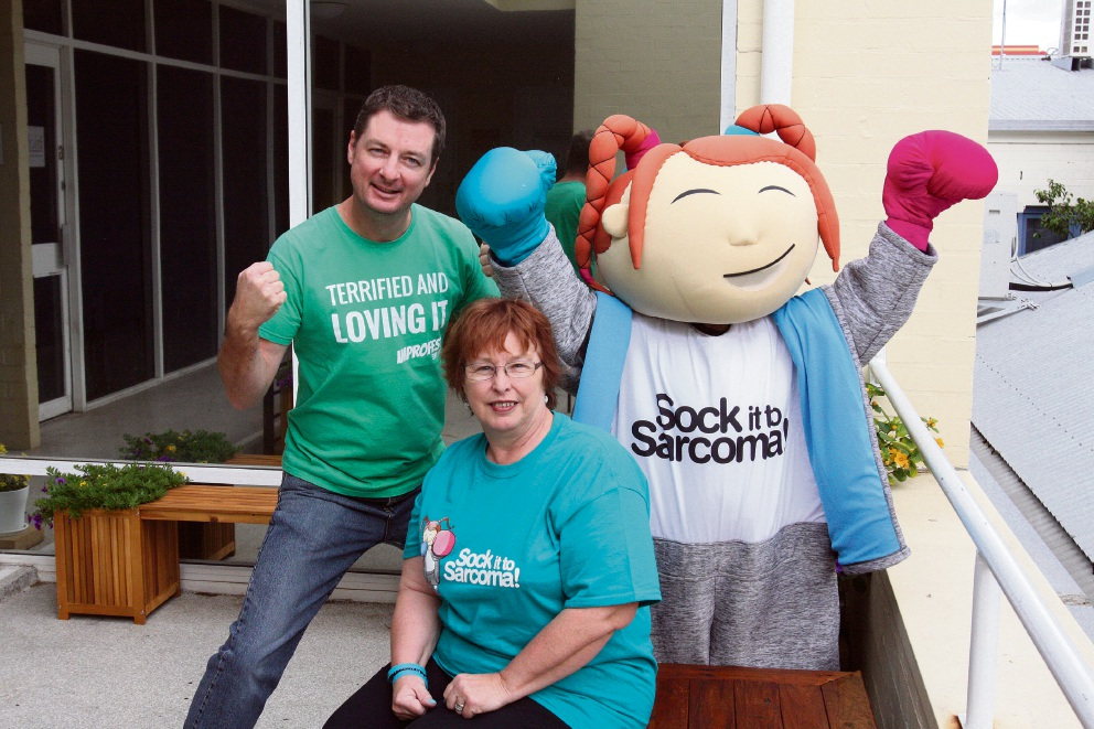Theatresports operation to raise awareness of sarcoma