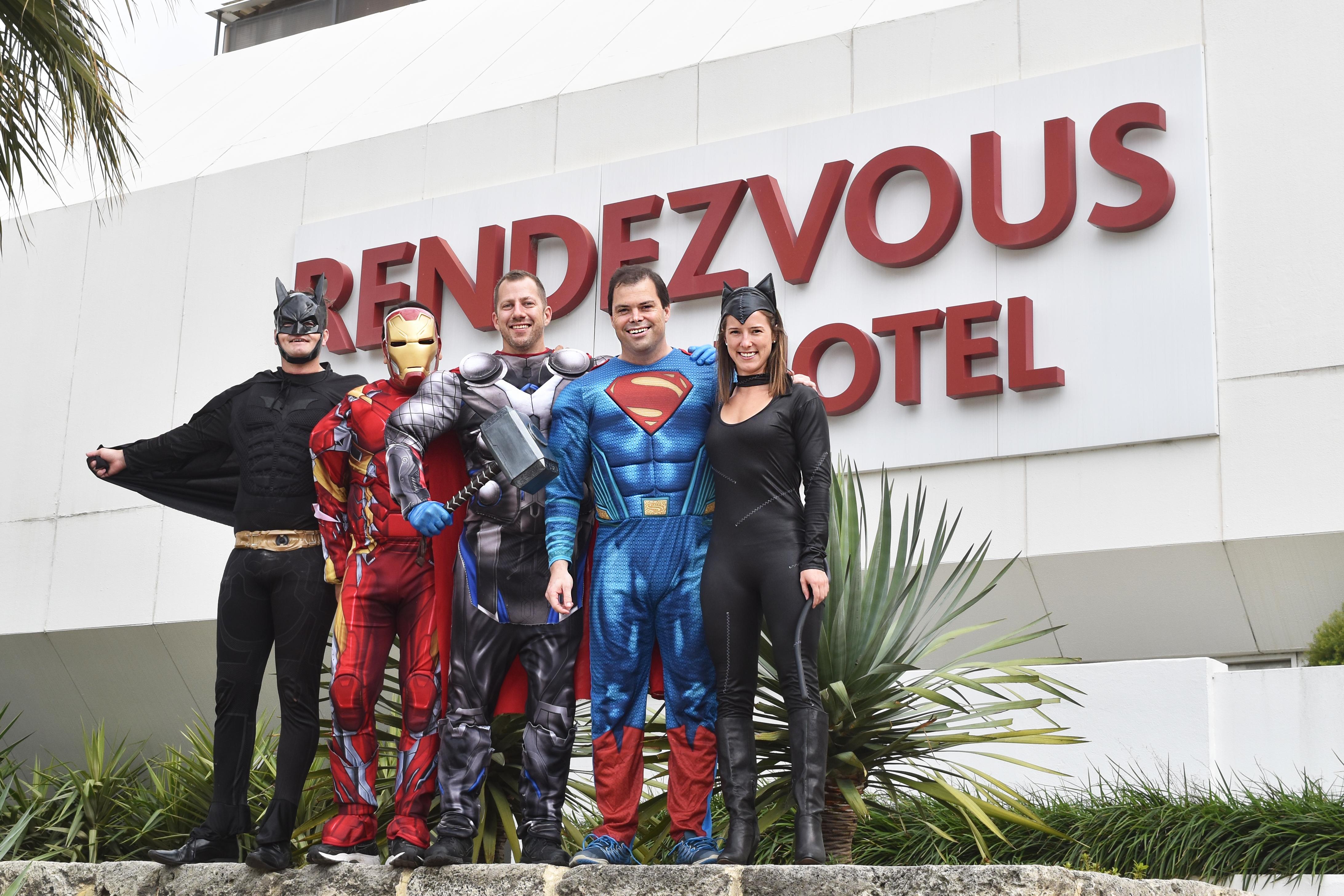 Rendezvous Hotel staff put in superhero effort for Super Boss Day