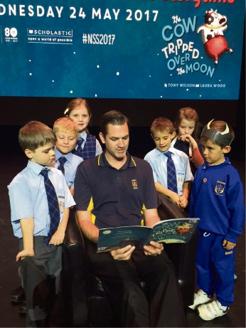 Nursery rhymes read in sync has Mandurah students rapt