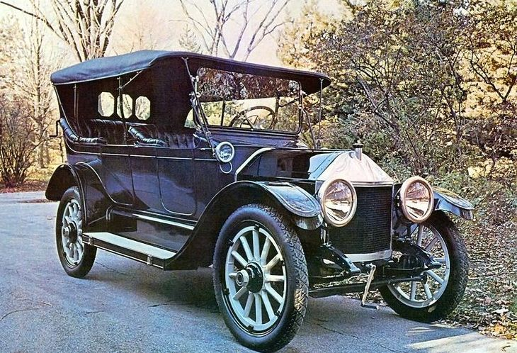 A 1913 Chevrolet, GM's first car in South Africa.