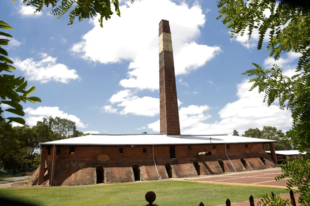 The State Heritage Office is investigating possible future uses for the Maylands brickworks site.