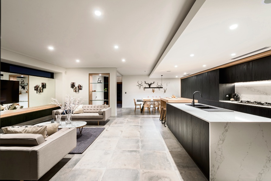 This Averna Homes residence was named the HIA-CSR Australian Spec Home of the Year.