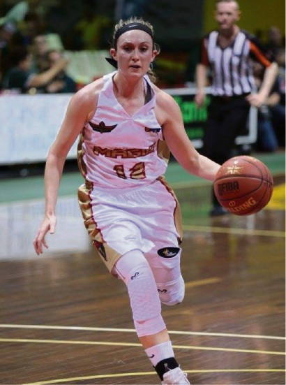 Nici Gilday had a big night with 29 points, eight rebounds and seven assists. Picture: Vikki Hile