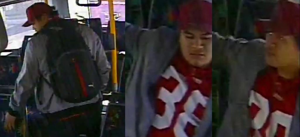 Police want to speak to the man pictured.