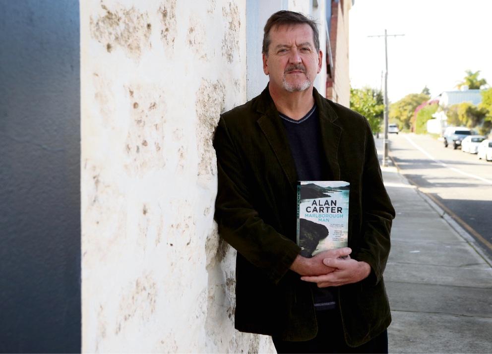 Author Alan Carter with new book Marlborough Man. Picture: Matt Jelonek www.communitypix.com.au   d467455