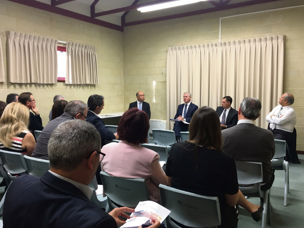 Federal MPs held a small business tax forum in the City of Joondalup.