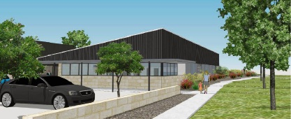 An artist's impression of the new day care centre at Baldivis.