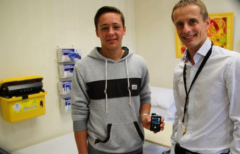 Jake O'Brien is the first patient to be recruited into the world's longest and largest trial hoping to improve the lives of young people living with type 1 diabetes.