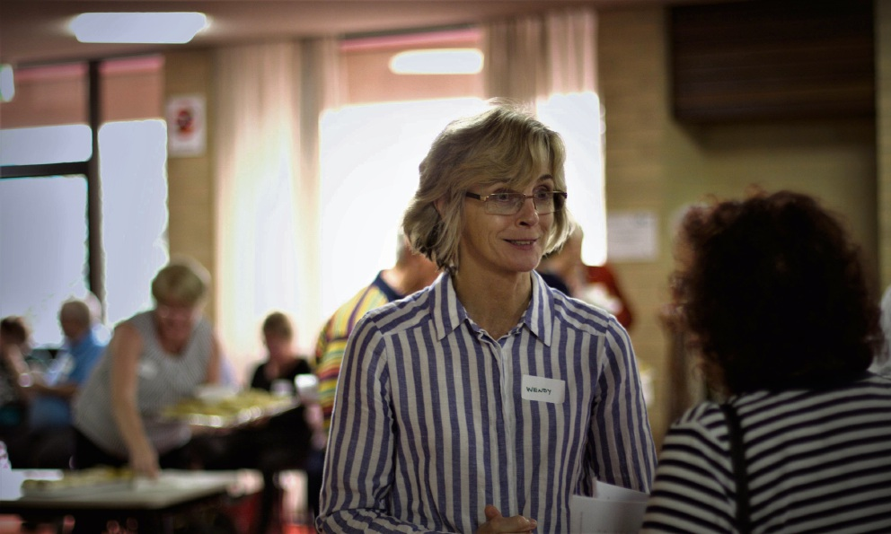 Associate Professor Wendy Davis during the afternoon tea held to thank participants of the Fremantle Diabetes Study. Picture: Anneke Burlinson