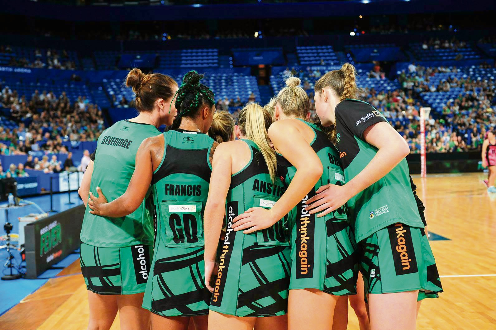 West Coast Fever looking for another win against the Swifts. Picture: Facebook