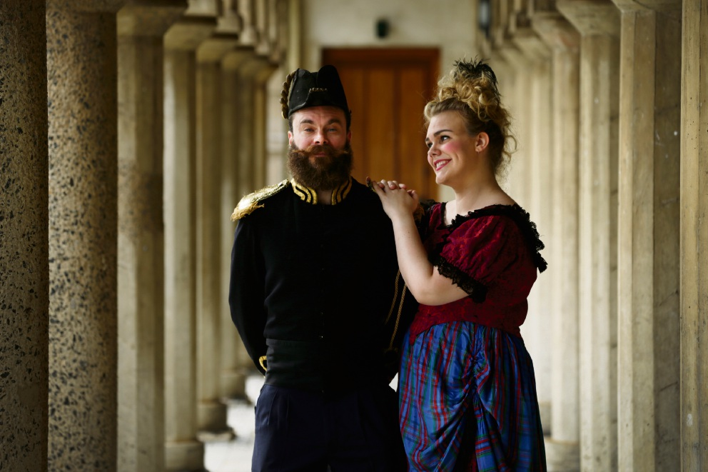 William James Smith and Belinda Cox. Picture: Andrew Ritchie