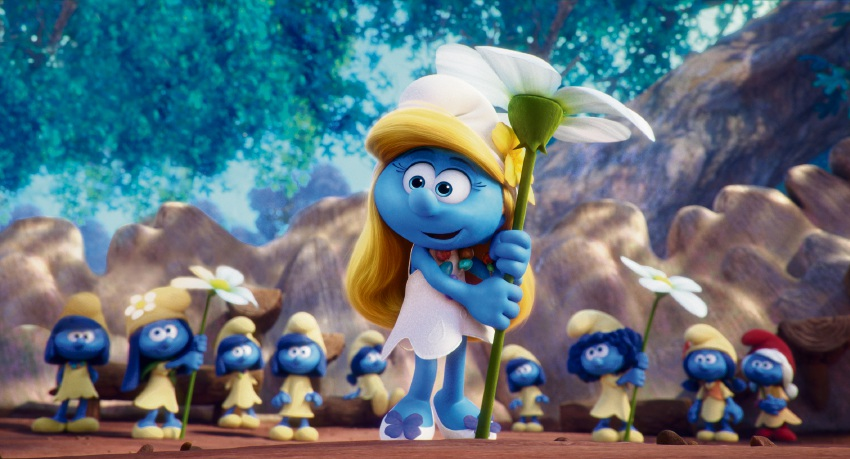 Smurfette takes centre stage in Smurfs: The Lost Village.