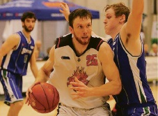 New Rockingham Flames import Donovan Jack delivered 30 points and 10 rebounds against the Stirling Senators. Picture: Vikki Hile