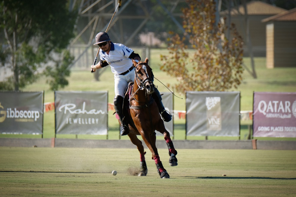 Polo in the Valley action. Picture: Andrew Ritchie